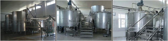 Brewery 25,000 liters per batch Brewhouse
