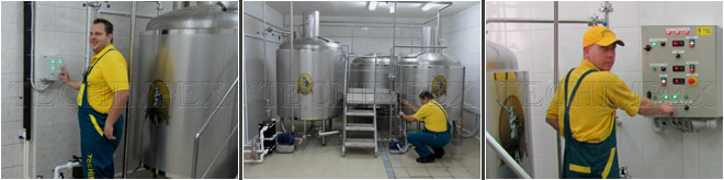 Microbrewery BrewHouse 1200 L