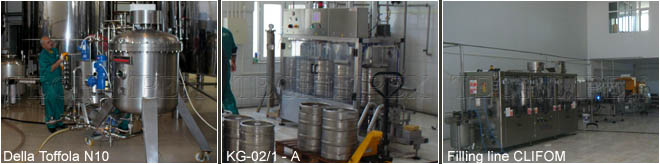 BEER FILTRATION AND FILLING