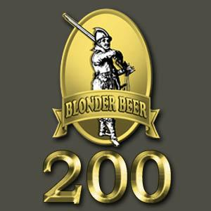 Microbrewery BlonderBeer 200 liters machinery